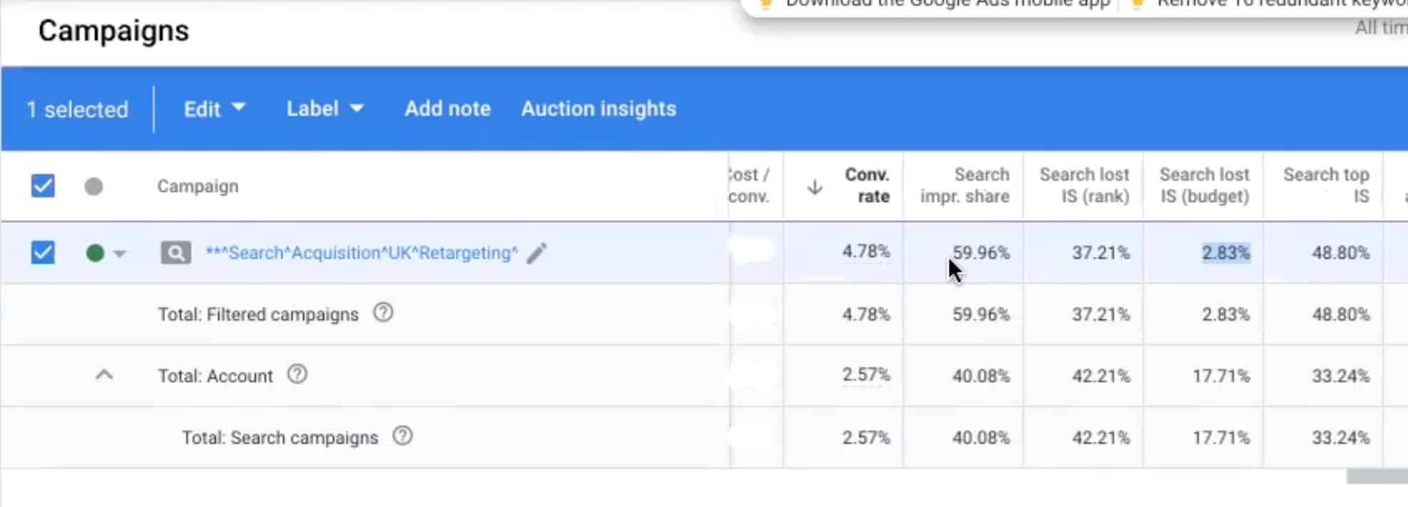 , How to Power Your Google Search Retargeting with an Isolated Campaign Strategy